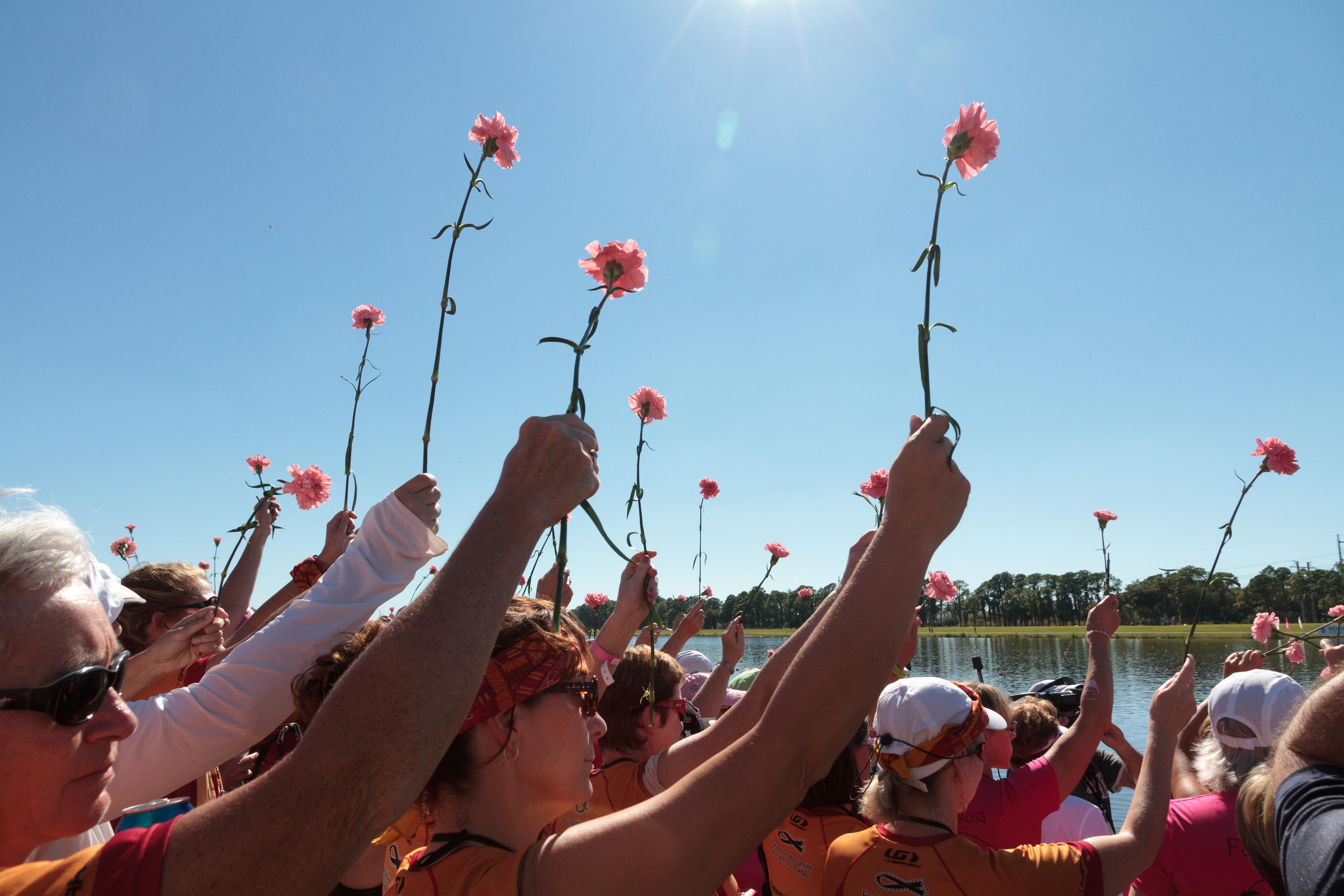 ceremonie des fleurs